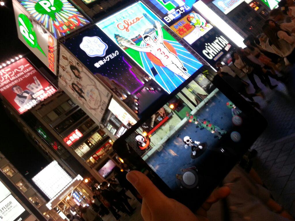 Zombie Hero in Japan! Literally