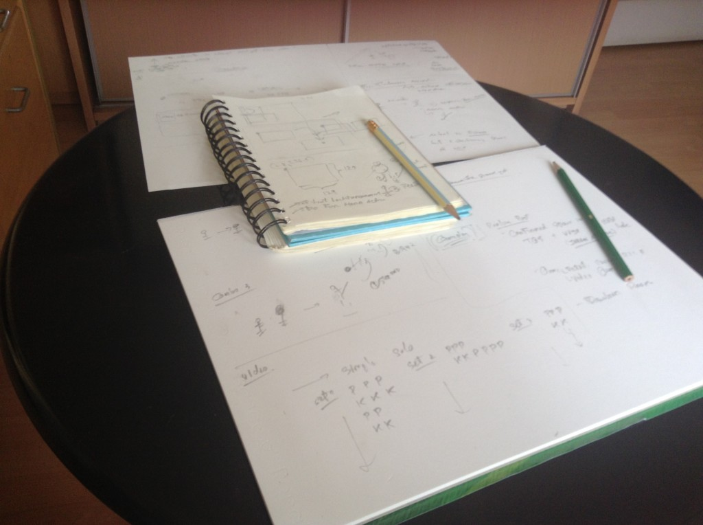 Thinking desk