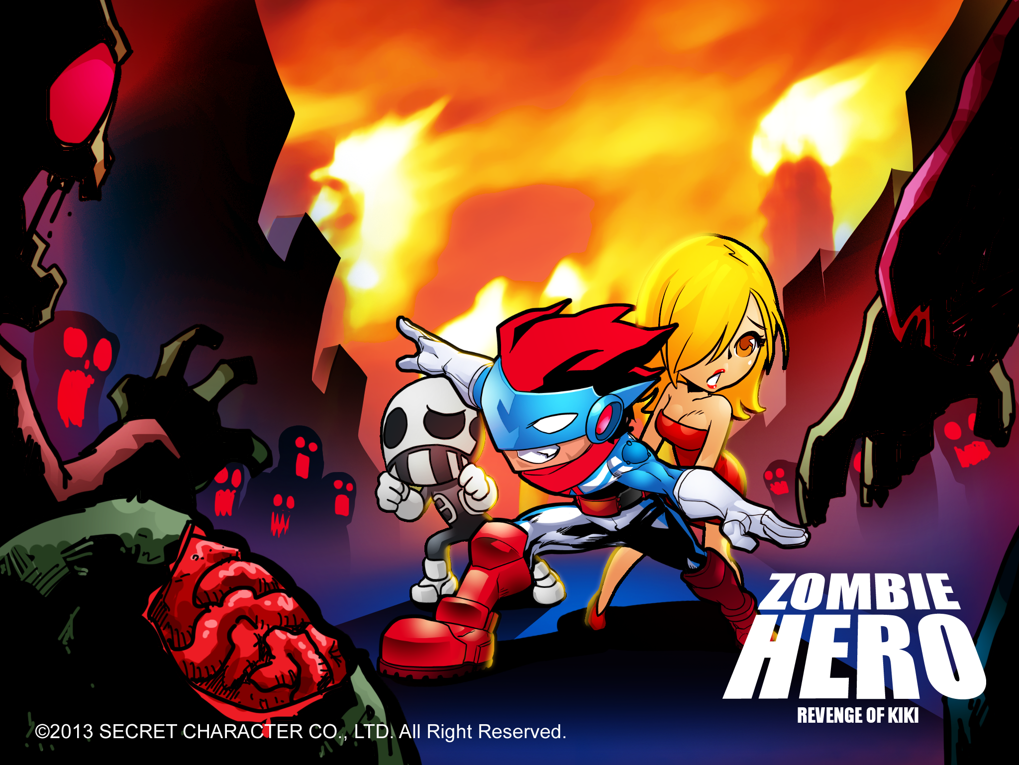 Zombie Hero : Revenge of Kiki | Artwork